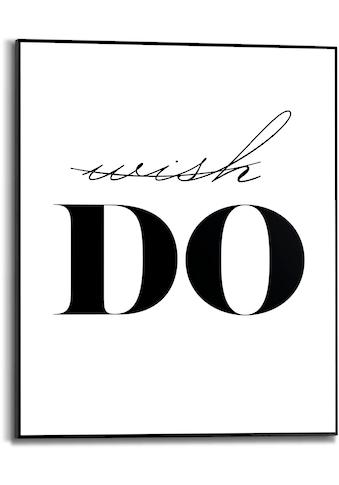 Reinders! Bild mit Rahmen »Wish Do«, (1 St.) kaufen