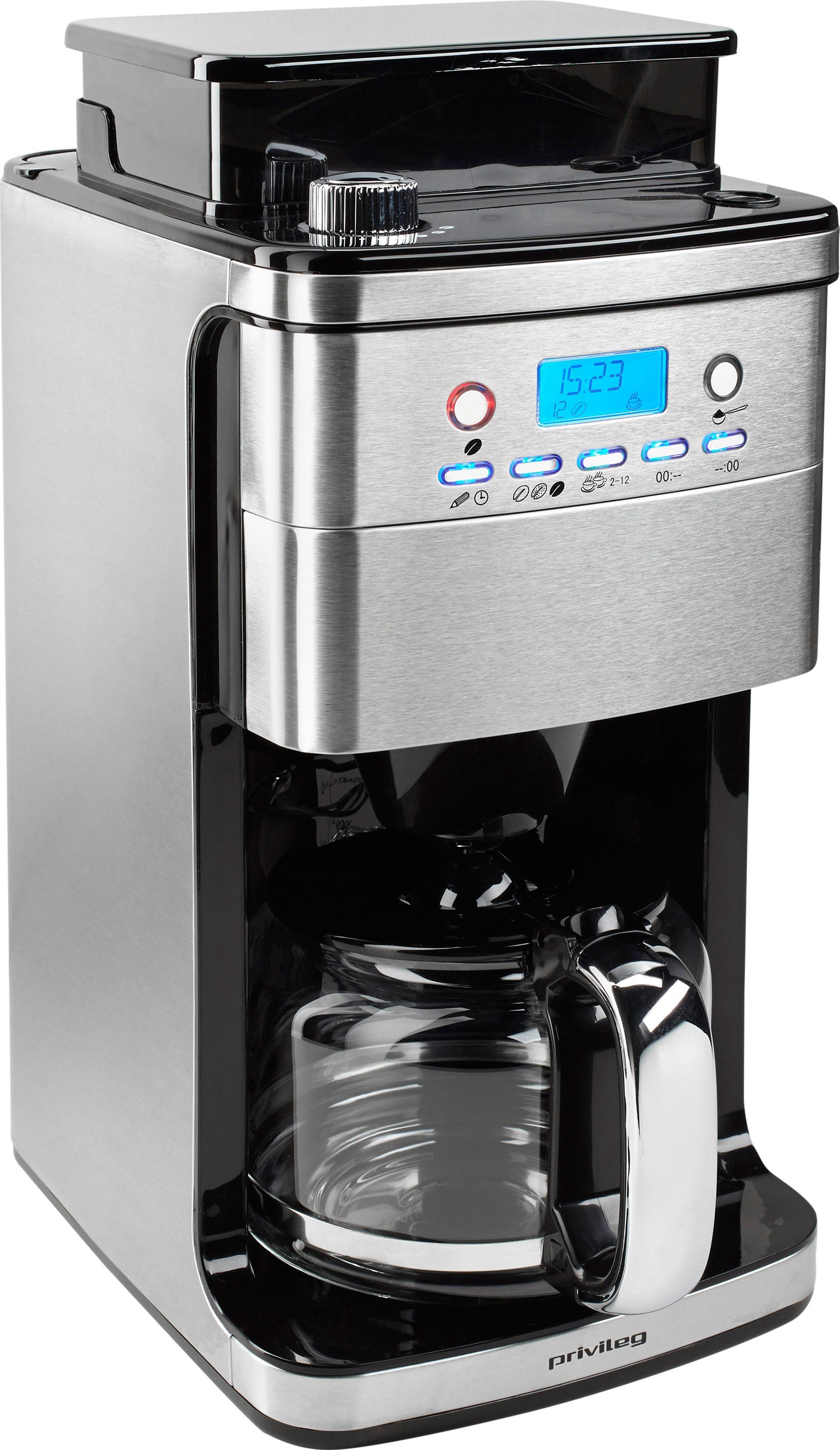 privileg kaffeemaschine mit mahlwerk cm4266 a papierfilter 1x4 online kaufen