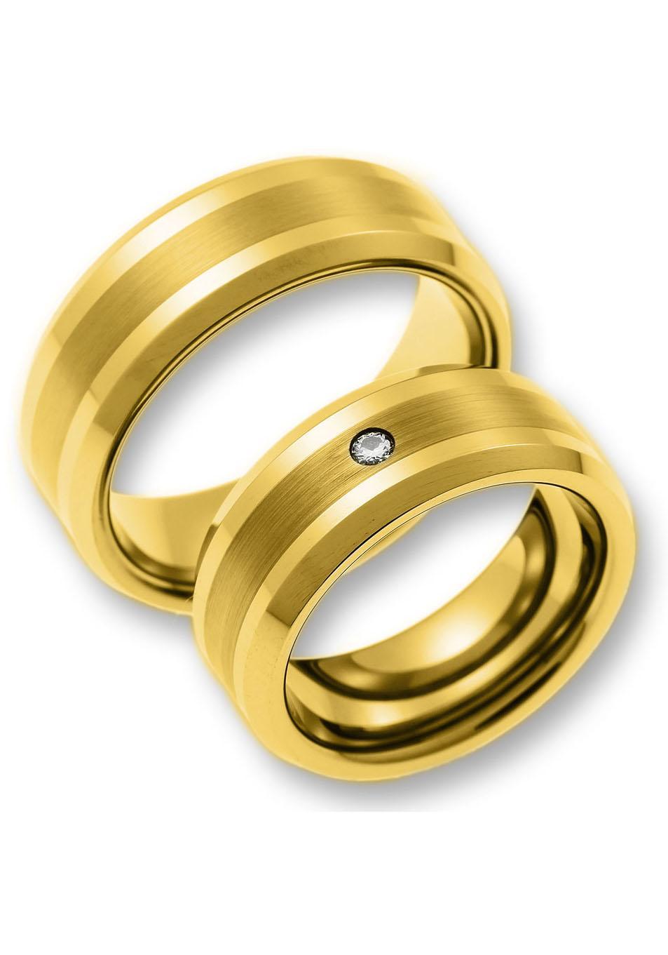 CORE by Schumann Design Partnerring »TW012.10/19013846, TW012.03/10008962« | Schmuck > Ringe > Partnerringe | Goldfarben | CORE BY SCHUMANN DESIGN