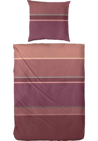 Primera Bettwäsche »Clean Stripe«, klassische Streifen, aus Mako-Satin kaufen