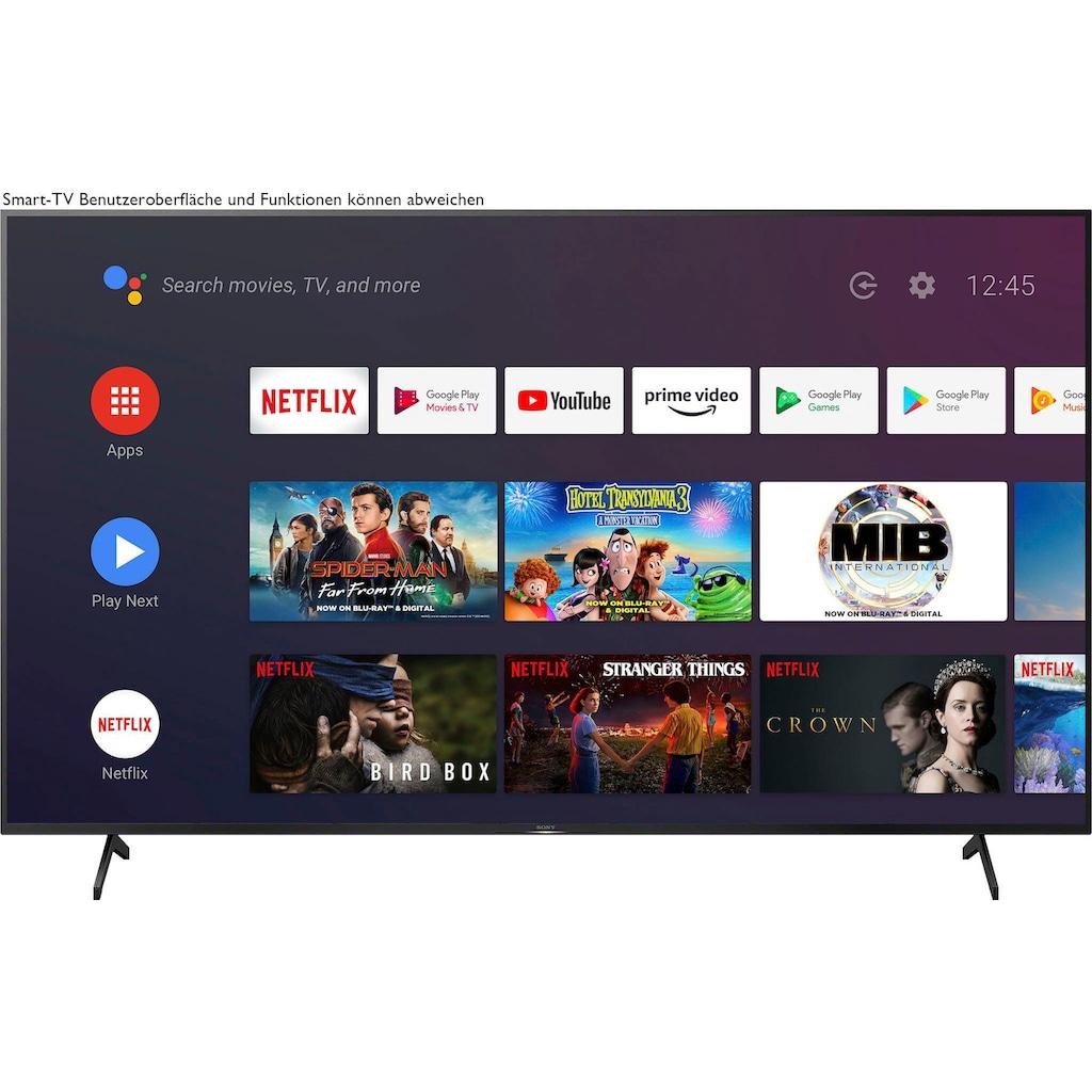 "Sony LED-Fernseher »KE-85XH8096«, 215 cm/85 "", 4K Ultra HD, Android TV-Smart-TV"