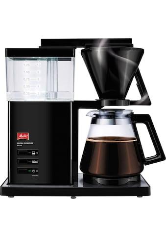 """Melitta Filterkaffeemaschine Aroma Signature Deluxe """"Black"""" 100703, Papierfilter 1x4 kaufen"""