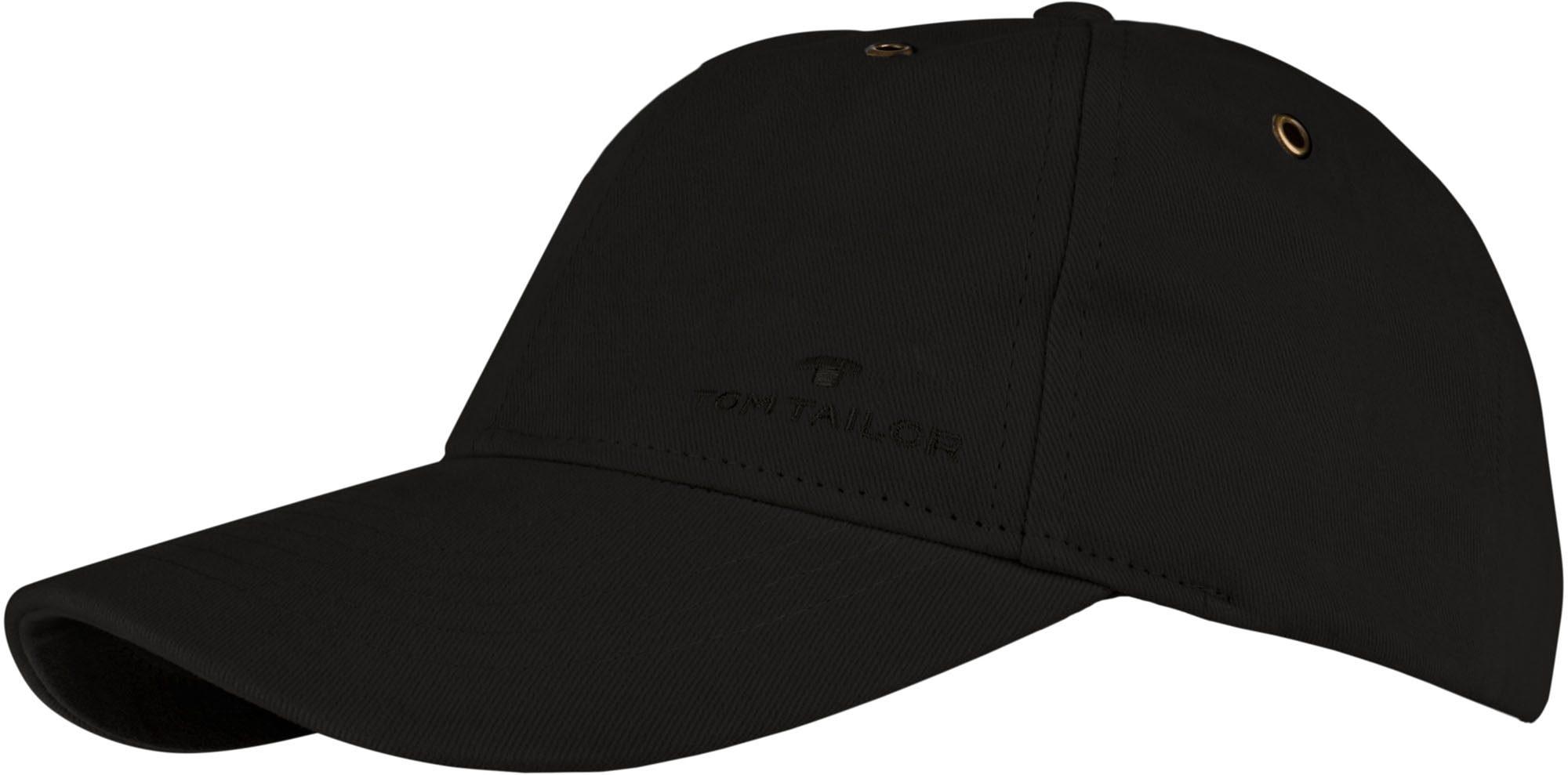 Tom Tailor Baseball Cap | Accessoires > Caps > Baseball Caps | Schwarz | TOM TAILOR