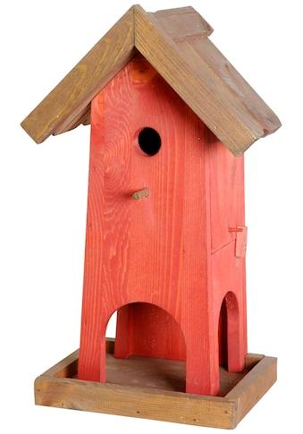 dobar Vogelhaus, BxTxH: 26,5x18,5x45 cm kaufen