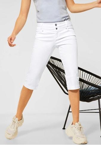 STREET ONE Caprihose »Style Yulius«, im 4-Pocket Style kaufen