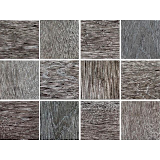 Fliesenaufkleber »Holzoptik«