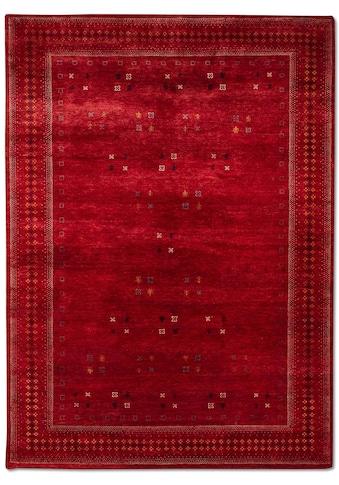 morgenland Wollteppich »LORIBAFT CROCO«, rechteckig, 18 mm Höhe, reine Wolle, Luxus,... kaufen
