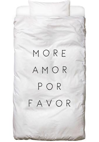 Juniqe Bettwäsche »More Amor«, In vielen weiteren Designs erhältlich kaufen