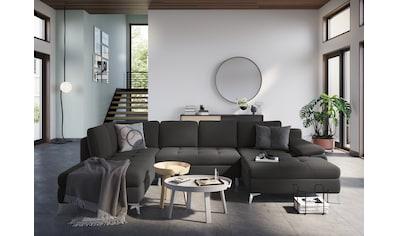 sit&more Wohnlandschaft, mit Recamiere, wahlweise mit Bettfunktion und Bettkasten kaufen