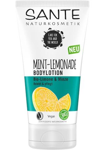 SANTE Bodylotion »MINT LEMONADE« kaufen