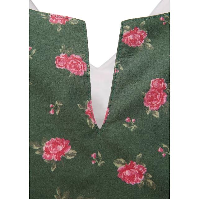 Love Nature Trachtenkleid mit Blumenprint