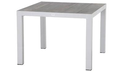 SIENA GARDEN Gartentisch »Silva«, Aluminium, 100x100 cm kaufen