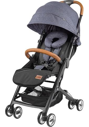 Gesslein Kinder-Buggy »Babies Smiloo Cuby, jeansblau-meliert«, mit Frontbügel;... kaufen