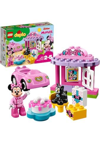 """LEGO® Konstruktionsspielsteine """"Geburtstagsparty (10873), LEGO® DUPLO® Disney"""", Kunststoff, (21 - tlg.) kaufen"""