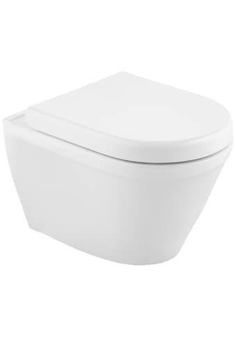 CORNAT Komplett - Set: Wand WC »Trient«, inkl. WC - Sitz mit Absenkautomatik kaufen