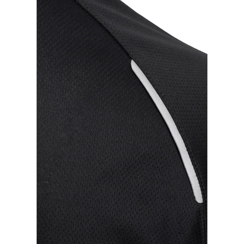 Polarino Funktionsshirt, aus atmungsaktiver Funktionsware