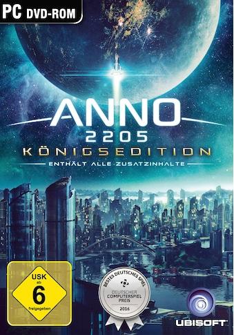 UBISOFT Spiel »Anno 2205 Königsedition«, PC, Software Pyramide kaufen