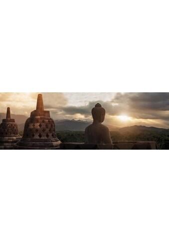 Home affaire Leinwandbild »Borobudur« kaufen