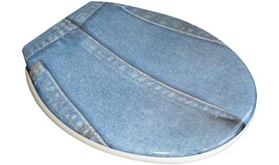 ADOB WC - Sitz »Jeans«, sehr stabil, universal passend kaufen