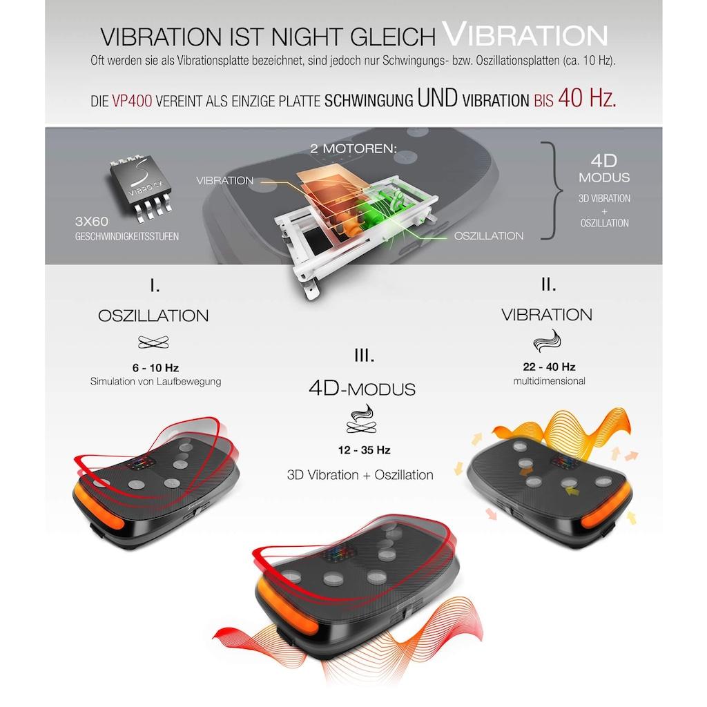 Sportstech Vibrationsplatte »VP400«, max. 400 W + max. 80 W