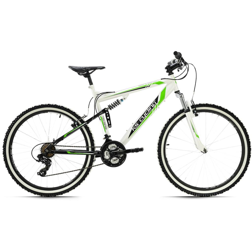 KS Cycling Mountainbike »Scrawler«, 21 Gang, Shimano, Tourney Schaltwerk, Kettenschaltung
