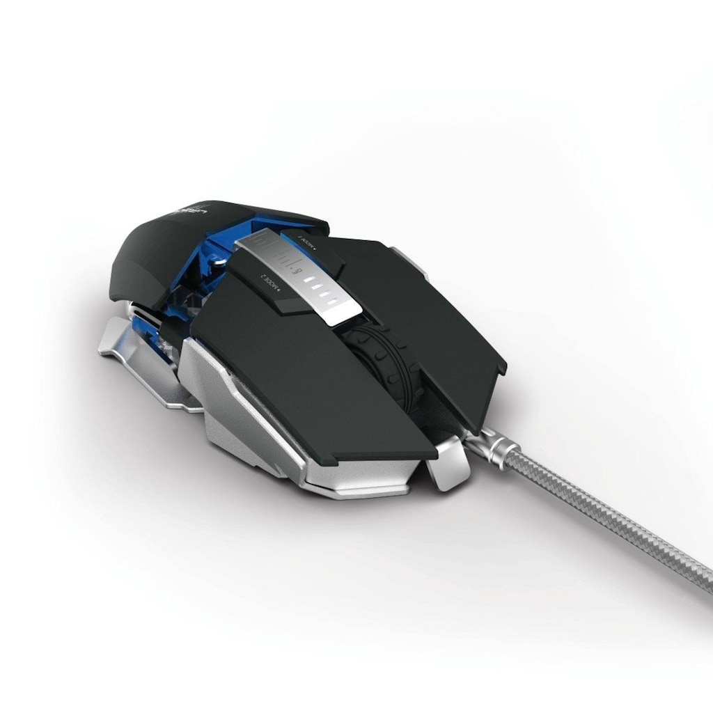 uRage Gaming Maus 7000 dpi+LED+7 Tasten »uRage Morph² evo.«
