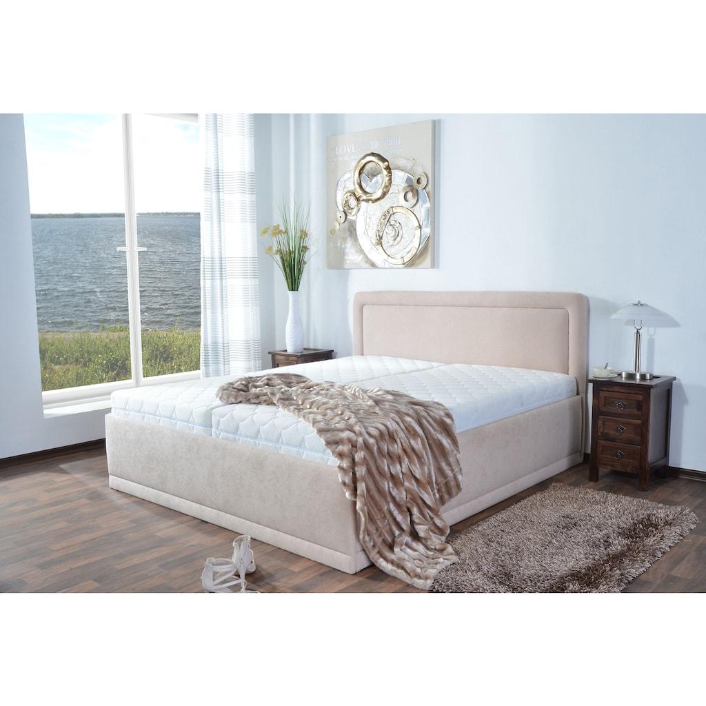 Westfalia Schlafkomfort Polsterbett, optional mit Bettkasten
