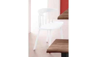 INOSIGN Stuhl »Graz«, in vier trendigen Farbvarianten, aus Kunststoff, Sitzhöhe 43 cm kaufen