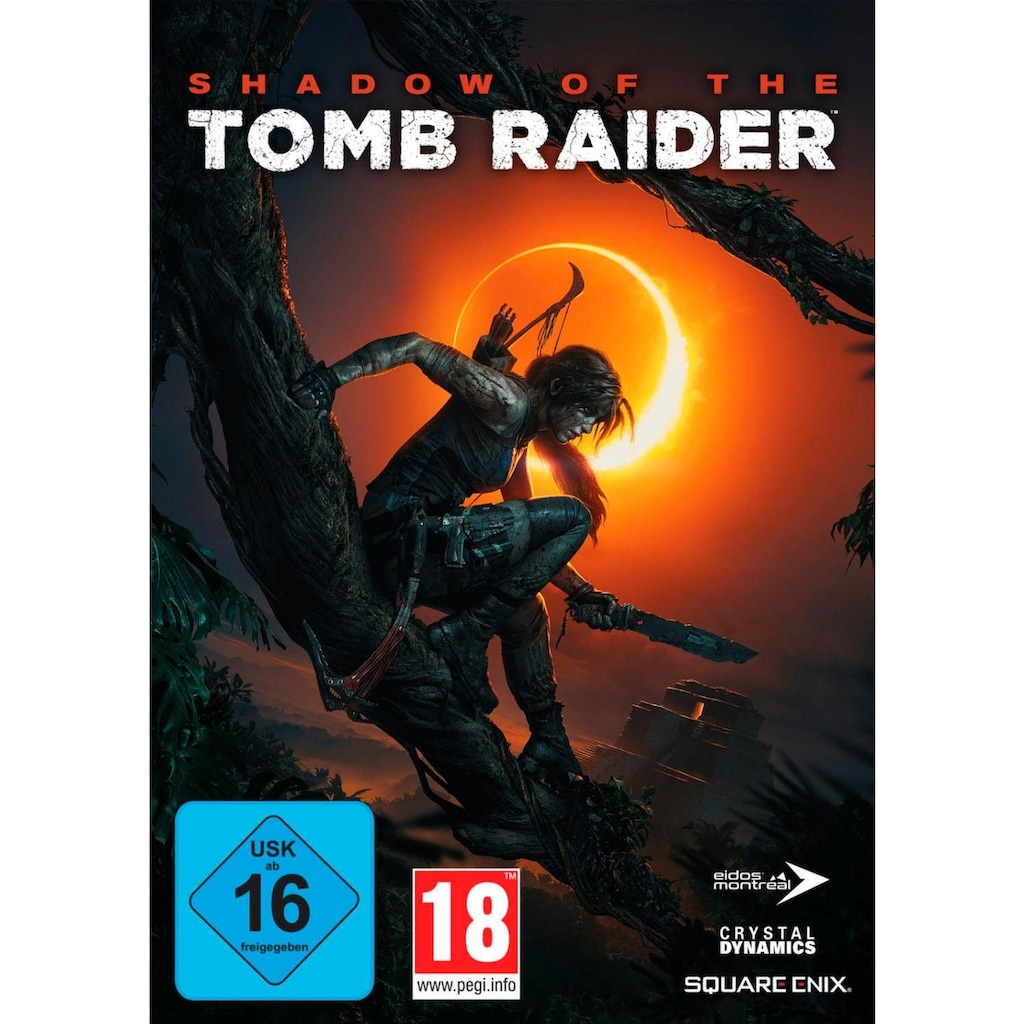 SquareEnix Spiel »SHADOW OF THE TOMB RAIDER«, PC, Software Pyramide