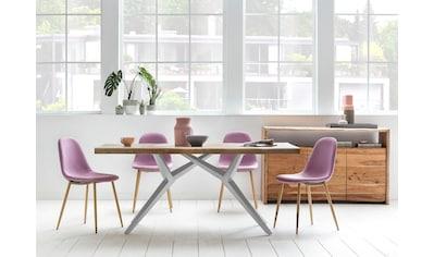 SIT Esstisch »Tables«, mit elegantem Metallgestell, Shabby Chic, Vintage kaufen
