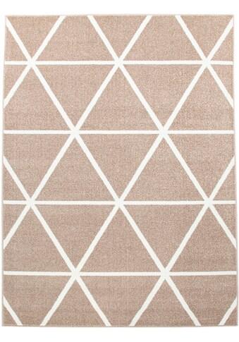 my home Teppich »Stellova«, rechteckig, 17 mm Höhe, Wohnzimmer kaufen