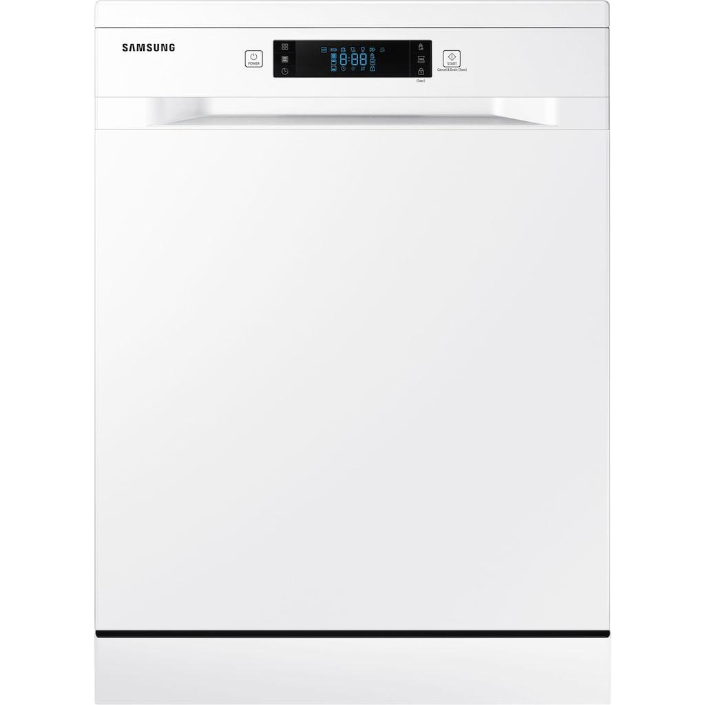 Samsung Standgeschirrspüler »DW60M6050FW/EC«, DW5500, DW60M6050FW, 10,5 l, 14 Maßgedecke, Besteckschublade
