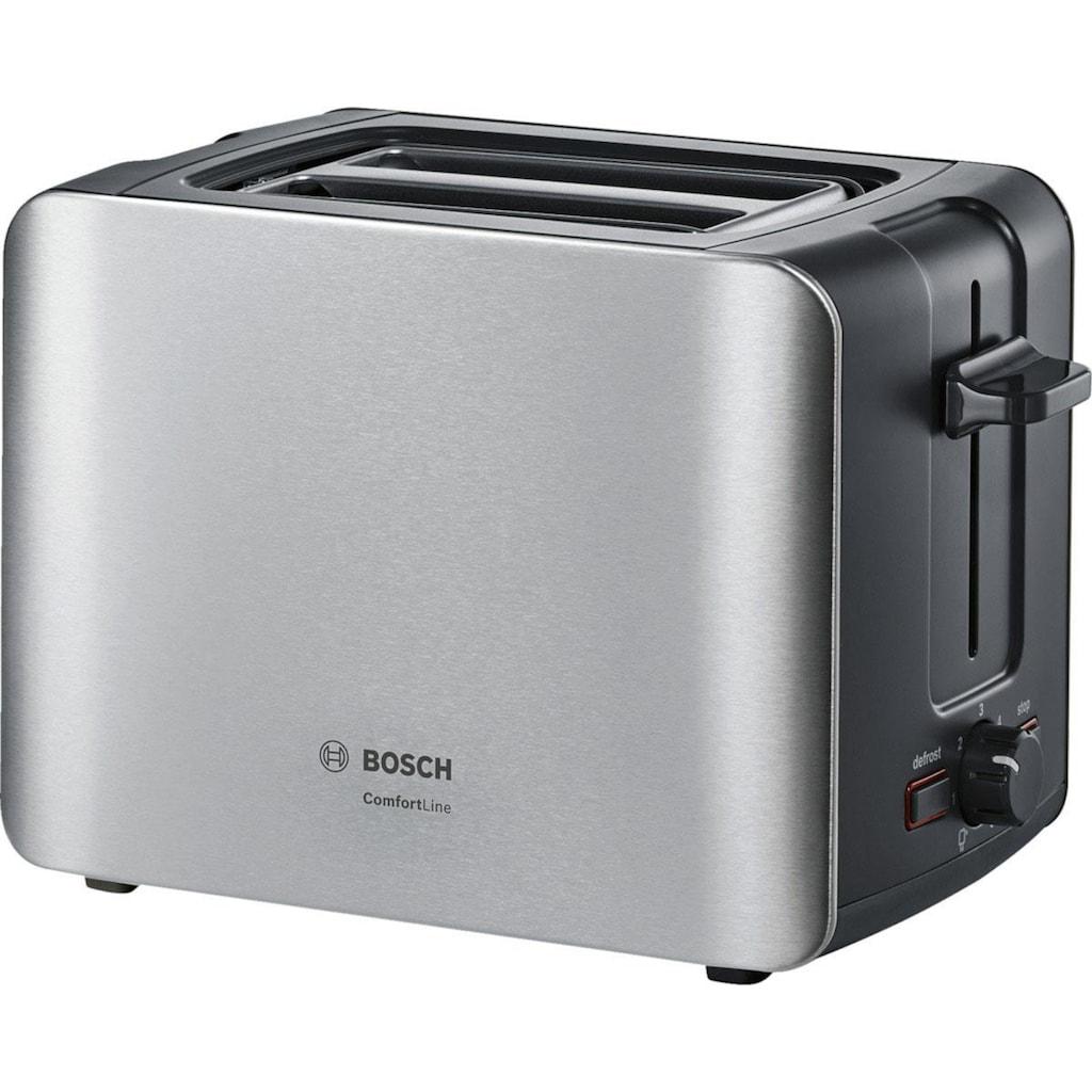 BOSCH Toaster »ComfortLine TAT6A913«, 2 kurze Schlitze, 915 W