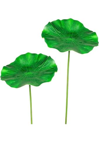 Creativ green Kunstzweig »Lotusblatt«, 2er Set kaufen