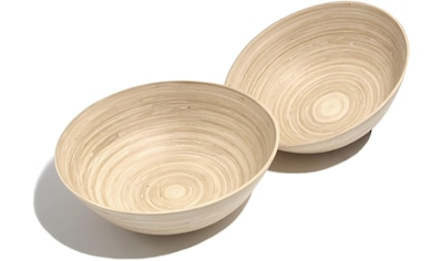 Franz Müller Flechtwaren Schale »Bamboo«, antimikrobiell, je Ø 30 cm kaufen