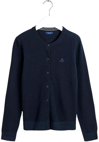 Gant Cardigan, aus strukturierter Qualität kaufen