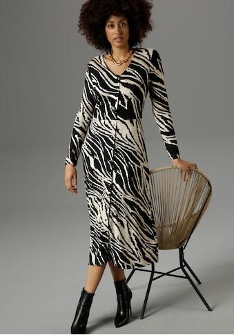 Aniston SELECTED Jerseykleid, im Animal-Print - NEUE KOLLEKTION kaufen