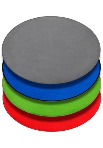 Primaflor-Ideen in Textil Kinderteppich »SITZKREIS«, rund, 5 mm Höhe, Spielteppich kaufen