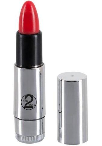 """You2Toys Mini - Vibrator """"Kiss me Lipstick Vibe"""" kaufen"""