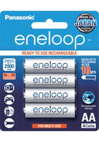 Panasonic »Eneloop Mignon AA HR06« Batterie (4 Stück) kaufen