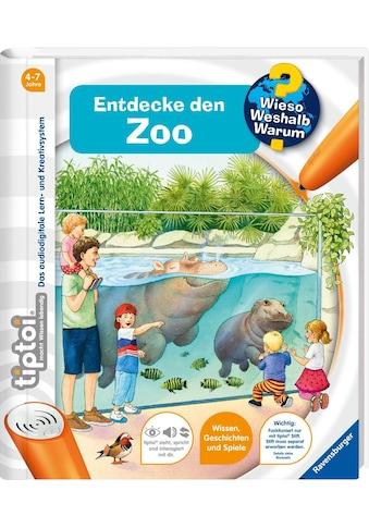 """Ravensburger Buch """"tiptoi® WWW Entdecke den Zoo"""" kaufen"""