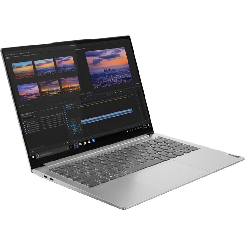"Lenovo Notebook »Yoga Slim 7 Pro 14IHU5«, (35,6 cm/14 "" Intel Core i7 GeForce MX450\r\n 1000 GB SSD), Kostenloses Upgrade auf Windows 11, sobald verfügbar"