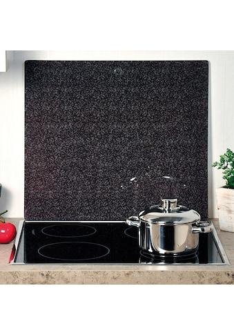 """KESPER for kitchen & home Schneide -  und Abdeckplatte """"Granit"""", ESG - Sicherheitsglas, (1 - tlg.) kaufen"""