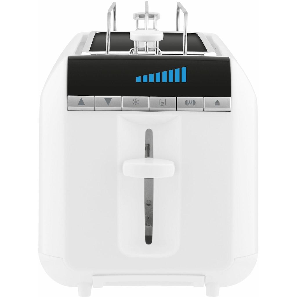 Rowenta Toaster »TL6811«, 2 lange Schlitze, für 4 Scheiben, 1600 W, Digitales Display, Krümelschublade, Hebe-Funktion, 8 Bräunungsstufen