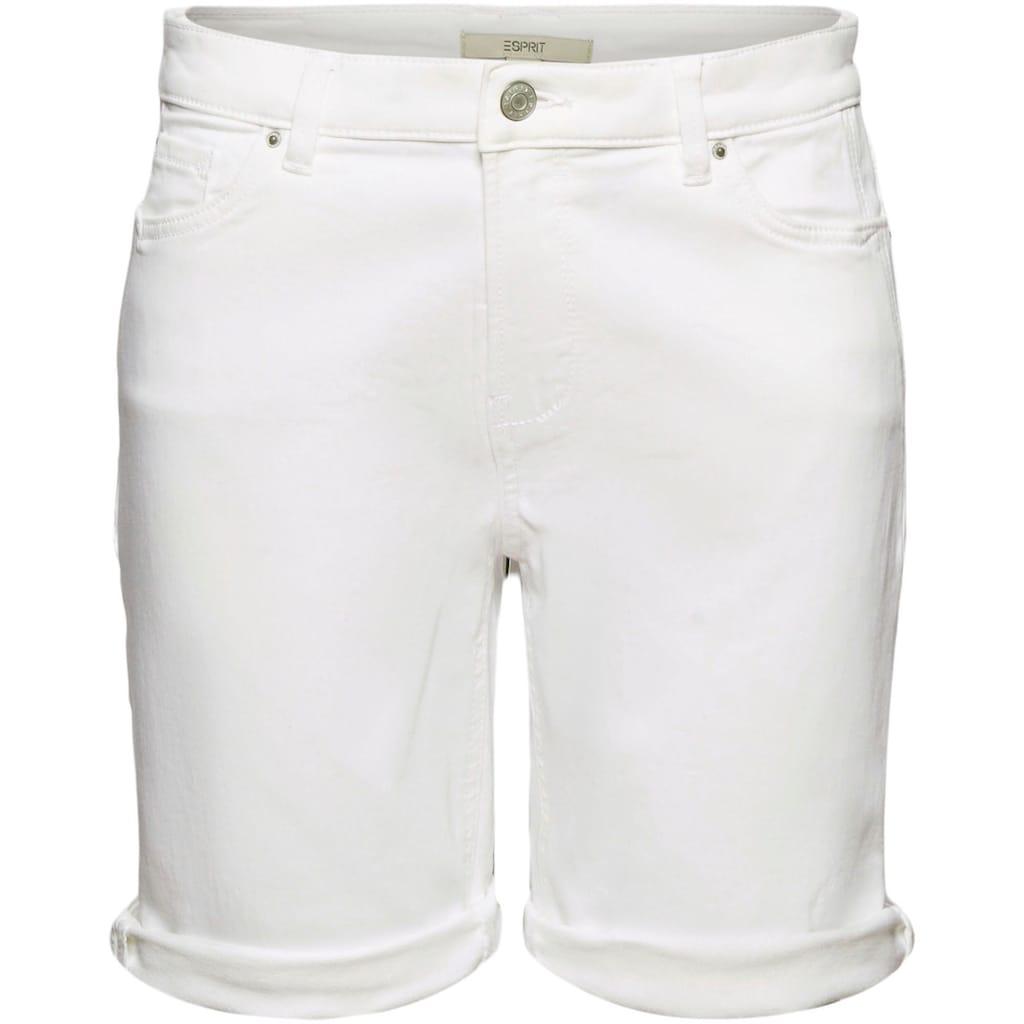 Esprit Shorts, mit individuell krempelbarem Saum