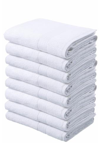my home Handtücher »Juna«, (8 St.), im Vorteilspack kaufen