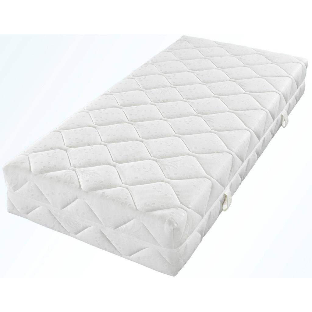 Breckle Taschenfederkernmatratze »Belvedere DeLux 1000«, 1000 Federn, (1 St.), Der Ideale Begleiter für jedes Schlafsystem - XXL Boxspringliegekomfort