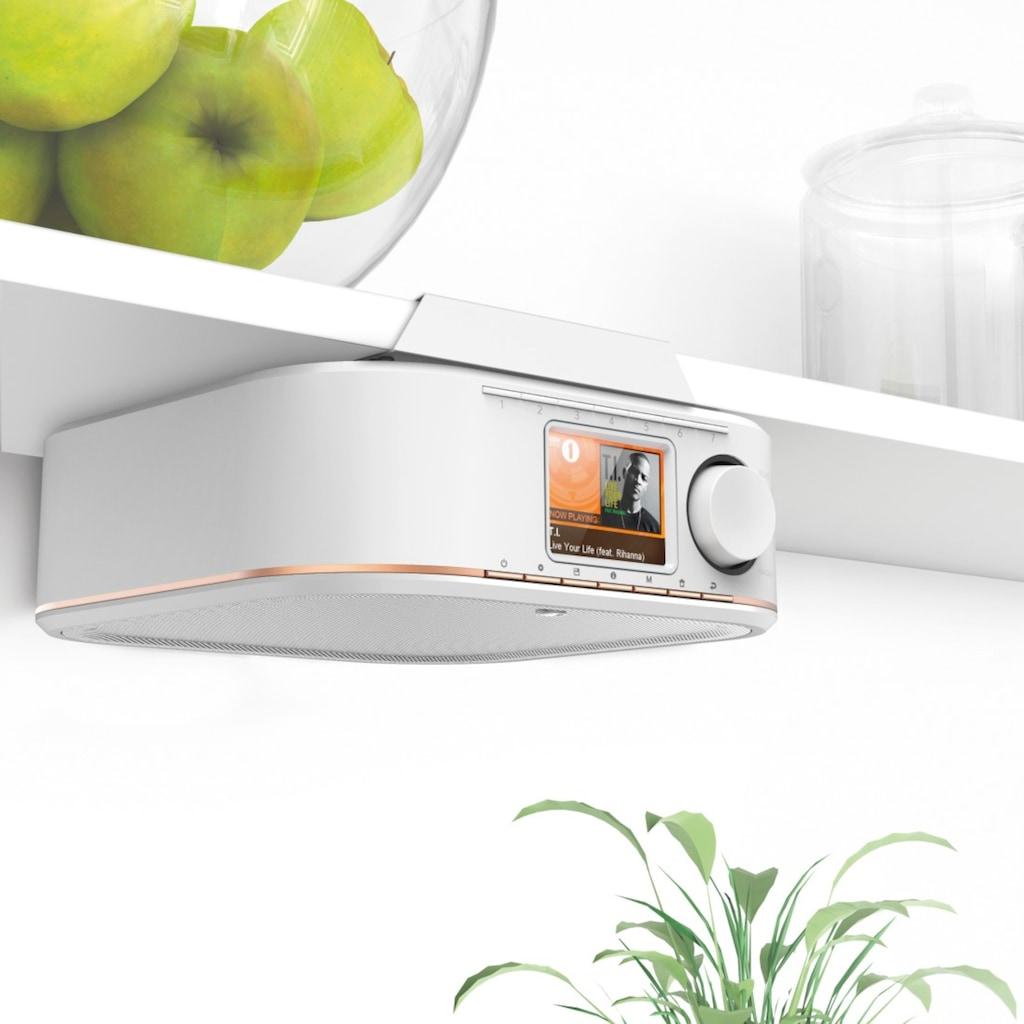 Hama Digitalradio (DAB+) »DR350«, (Digitalradio (DAB+)-FM-Tuner 5 W), für Küche