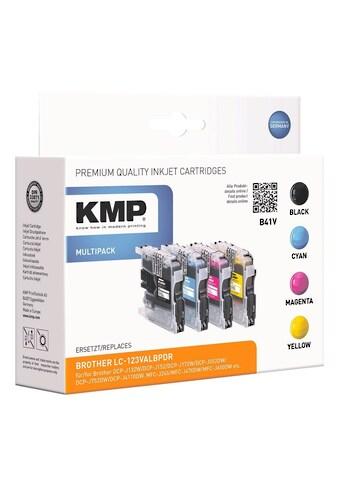 KMP Tintenpatronen - Set ersetzt Brother »LC - 123« kaufen