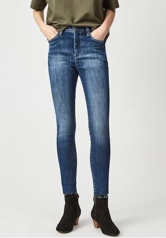 Pepe Jeans Röhrenjeans »DION«, Skinny Passform mit hohem Bund in Komfort Stretch Denim kaufen